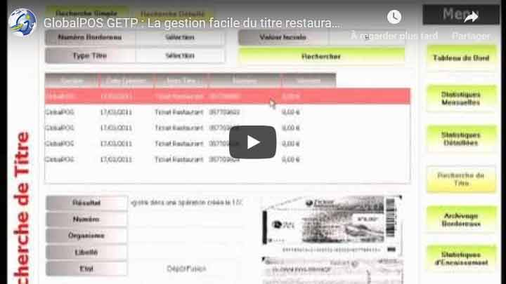 Video la gestion des titres restaurants